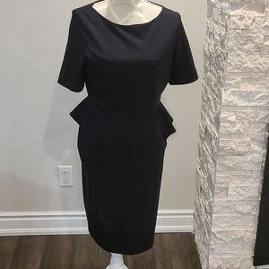Marks & Spencer Black short-sleeved dress